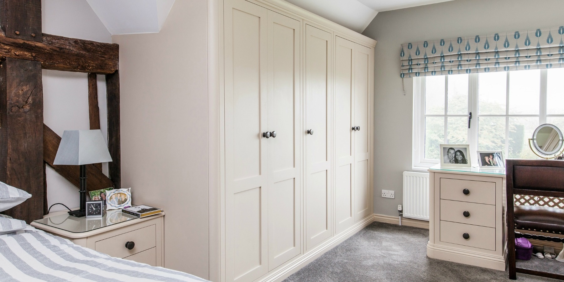Handmade Freestanding Wardrobes & Bedroom Furniture - Burlanes bespoke bedroom furniture and freestanding handpainted wardrobes.