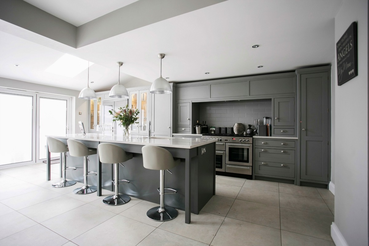 Sophisticated Sociable Kitchen  -
