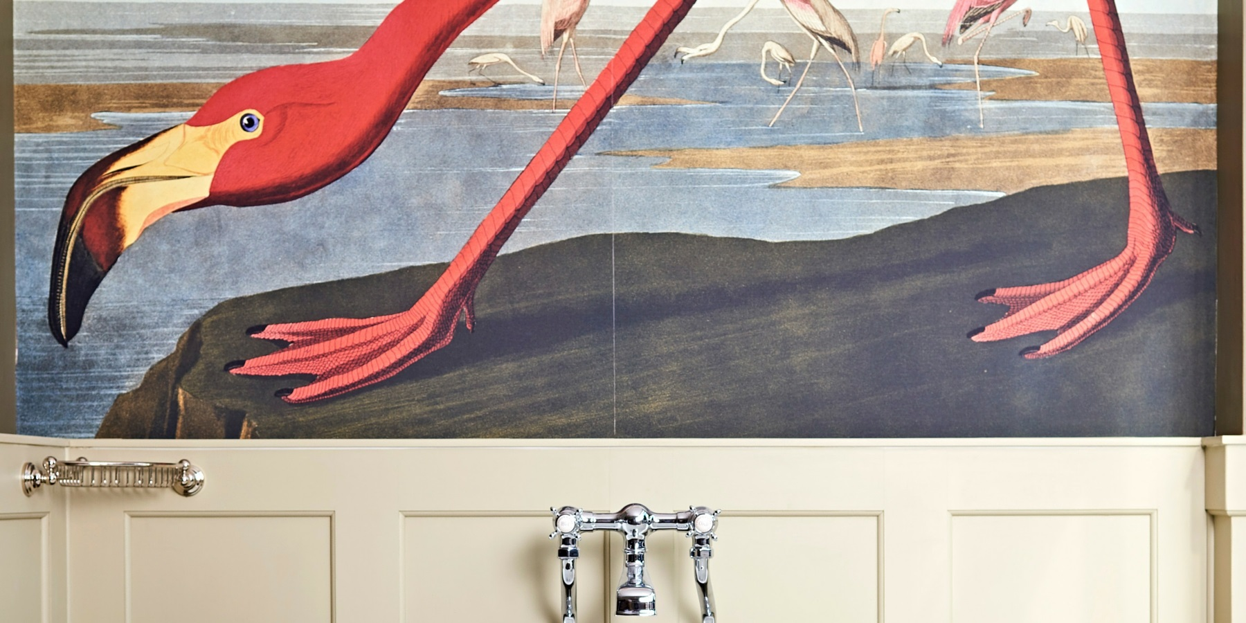 Wall Mural Inspiration from burlanes interiors -