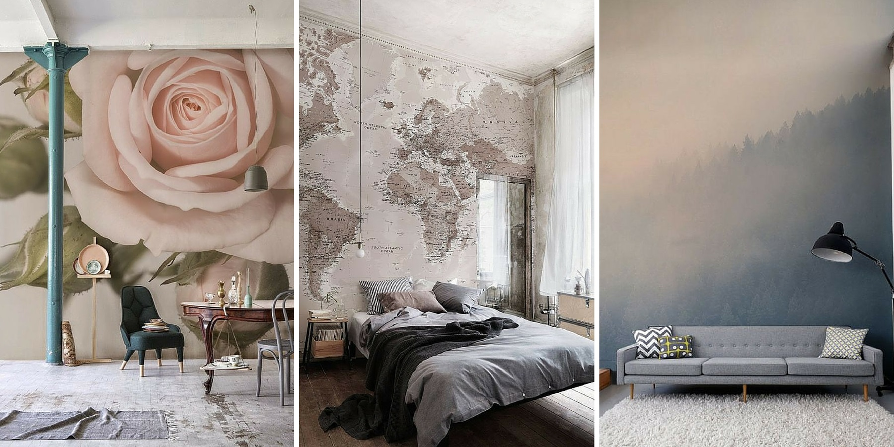 Burlanes Interiors - Wall Mural Inspiration from Burlanes Interiors