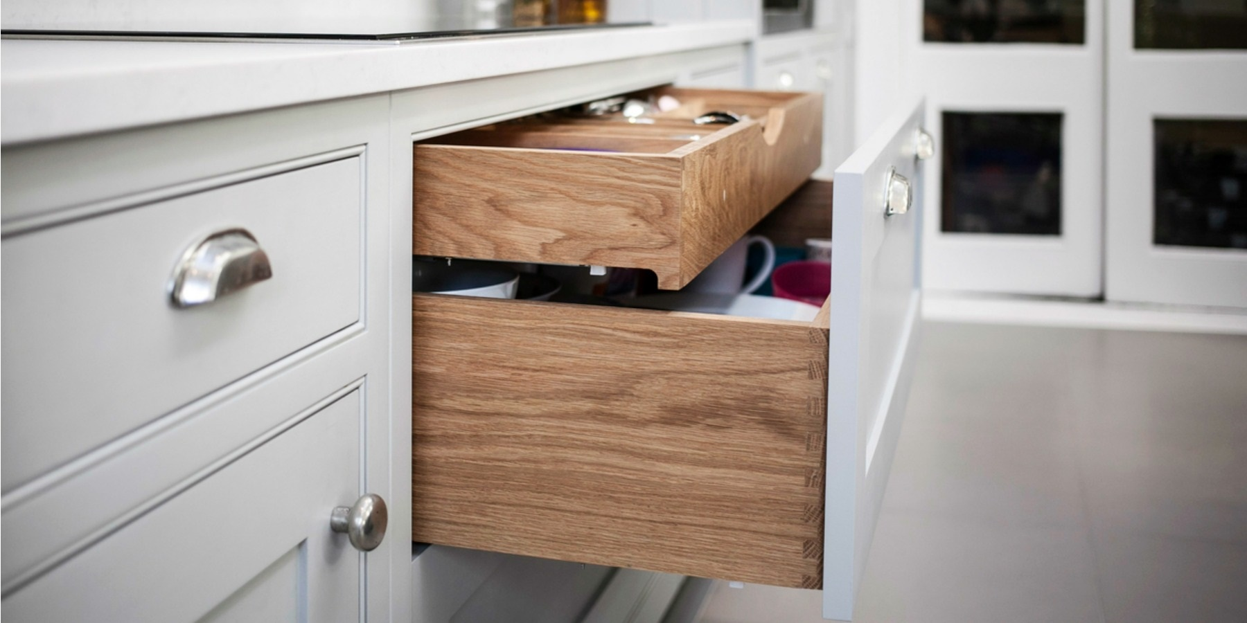 Burlanes Interiors - Two layer drawers