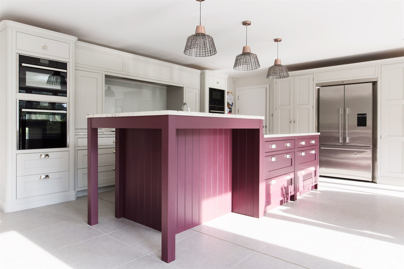 Burlanes Interiors - Multi functional kitchen island