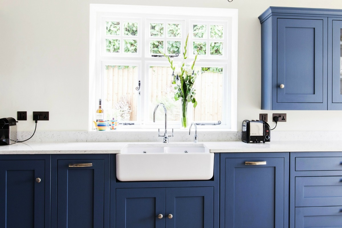 sink and tap - overd kitchen sink and tap