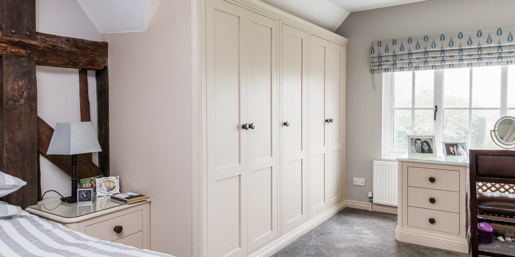 Burlanes Interiors - Bespoke, handmade fitted wardrobes and bedroom furniture