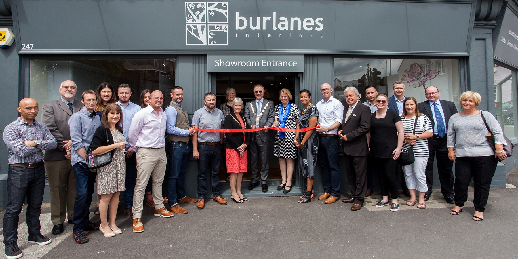 Burlanes Chelmsford - New interior showroom in Chelmsford showcasing handmade furniture of the highest quality