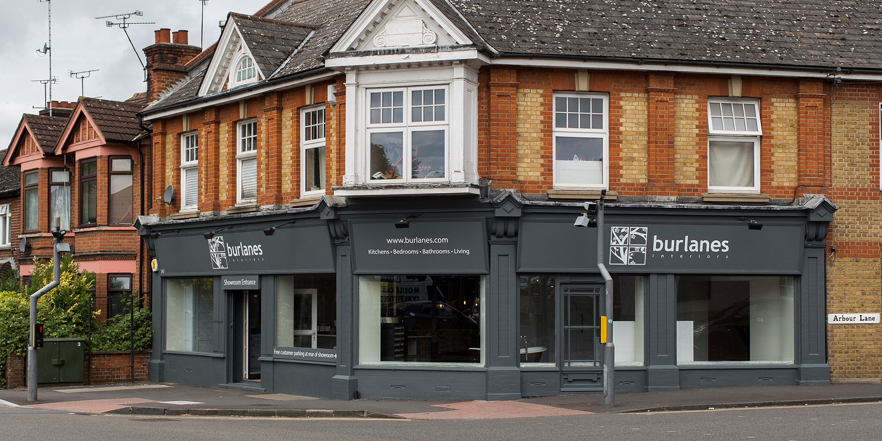 Burlanes Interiors Chelmsford  - Our interiors showroom on Springfield Road, Chelmsford.