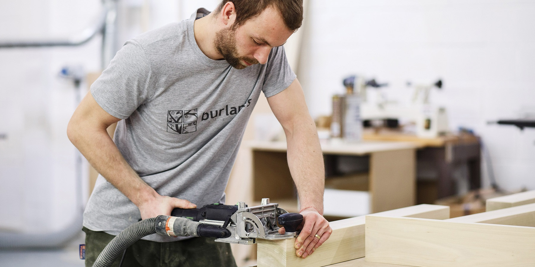 Burlanes Kent Workshop - All of our furniture is handmade in our own workshop, in Rochester, Kent.