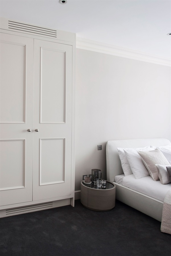 Bespoke Designer Bedroom Furniture - Burlanes handmade fitted bedroom wardrobes and designer storage solutions.