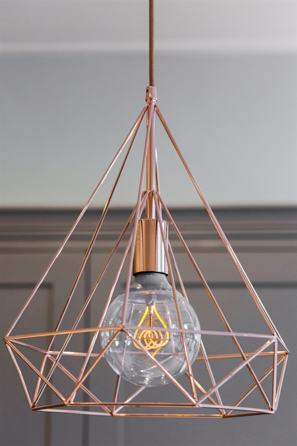 Unique Copper Lighting - Burlanes supply a range of beautiful, unique light fixtures for your home.