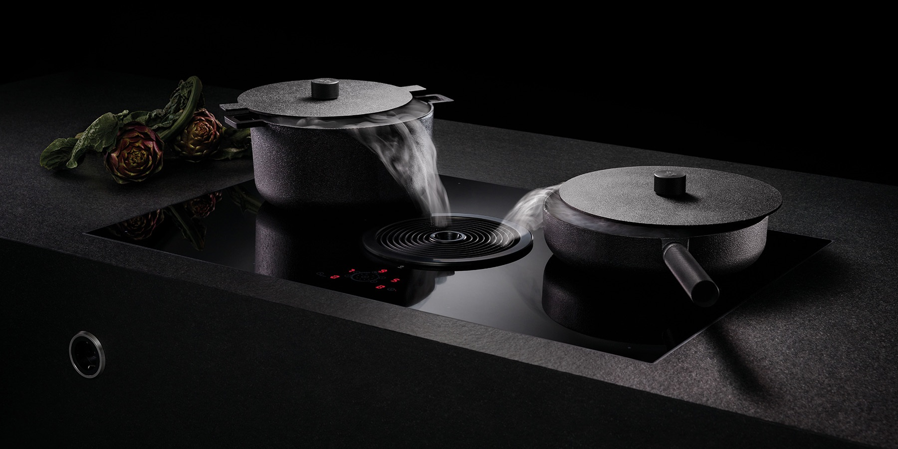 BORA Induction Cooktop - BORA: The End Of The Extractor Hood