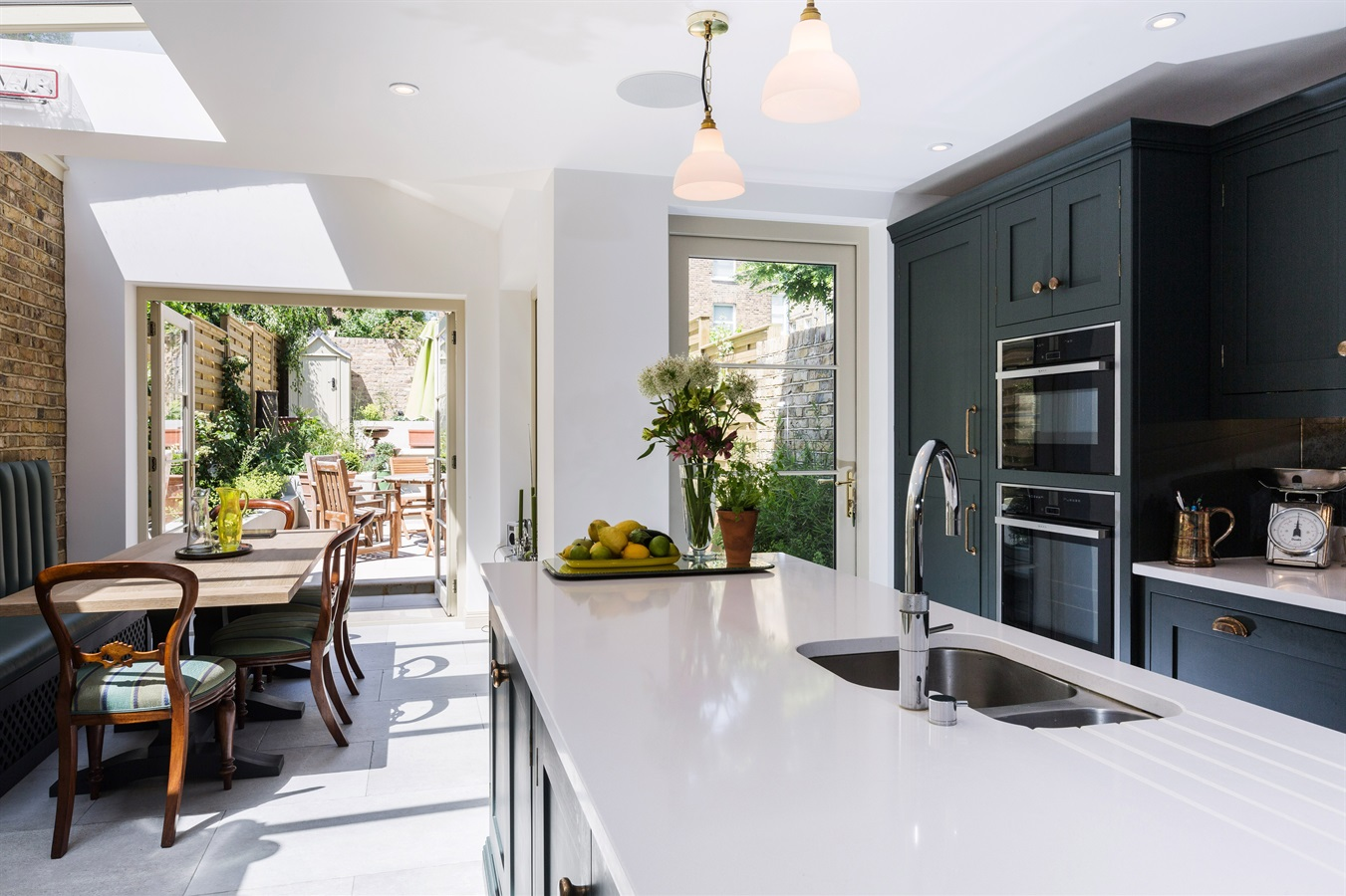 Burlanes Bespoke Classic Hoyden Kitchen - Burlanes were commissioned to design and create a kitchen with charisma and rustic charm, and handmade furniture for elsewhere in the home.