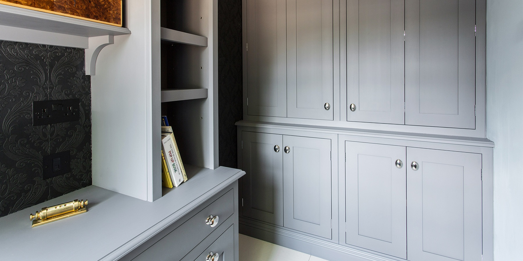 Luxurious Home Office Furniture - Bespoke, handmade home office furniture and dresser unit.