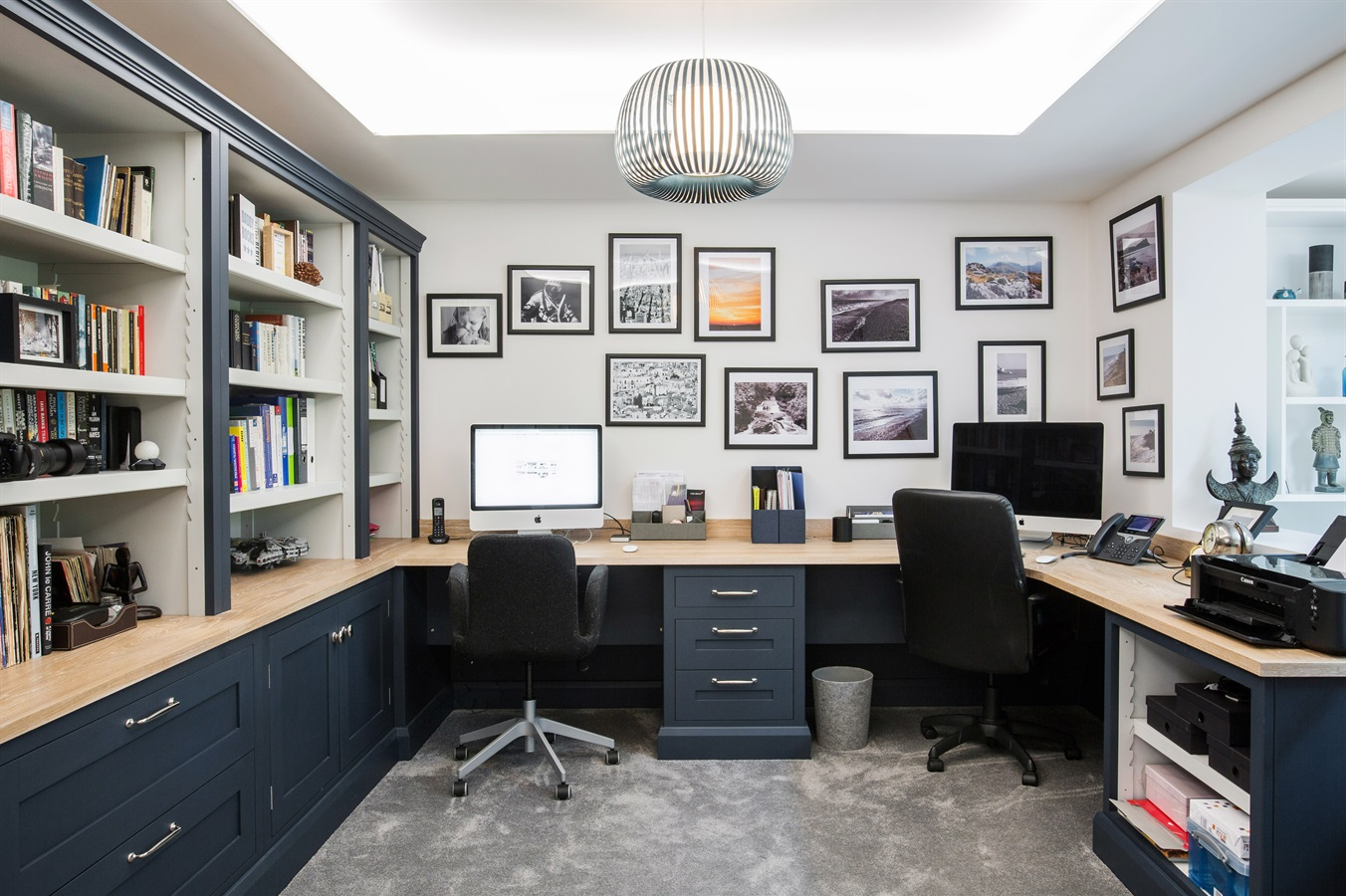 Burlanes Bespoke Home Office Furniture  - Burlanes design and create bespoke home office and storage solutions for your home
