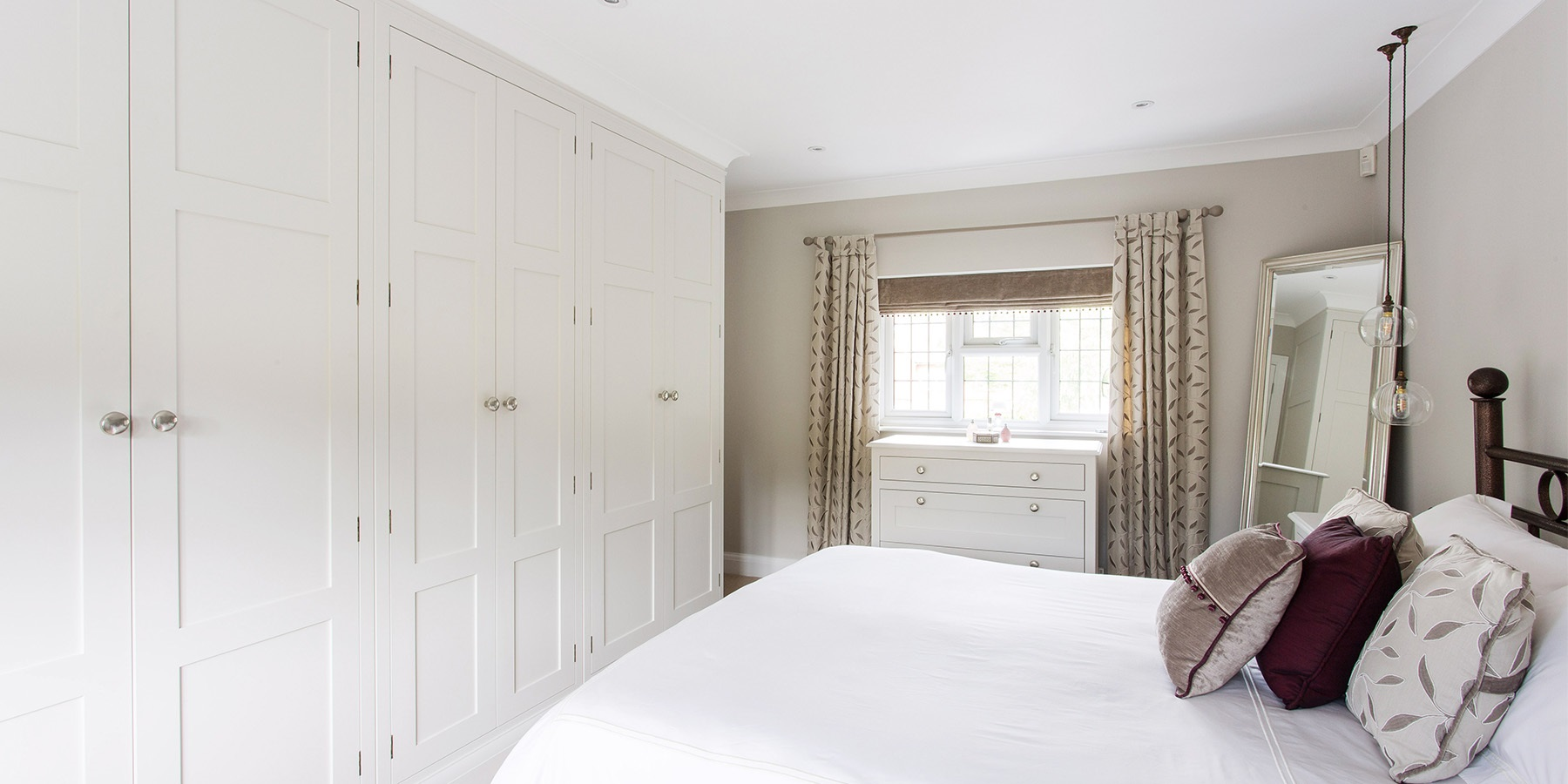 Burlanes Bespoke Bedroom Furniture - Burlanes design and make bespoke bedroom furniture and fitted wardrobes of the highest quality.