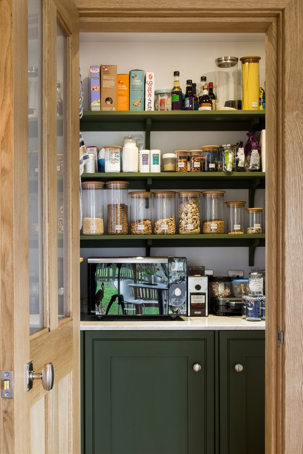 Bespoke Walk-in Pantry - Burlanes handmade walk-in pantry cabinetry.