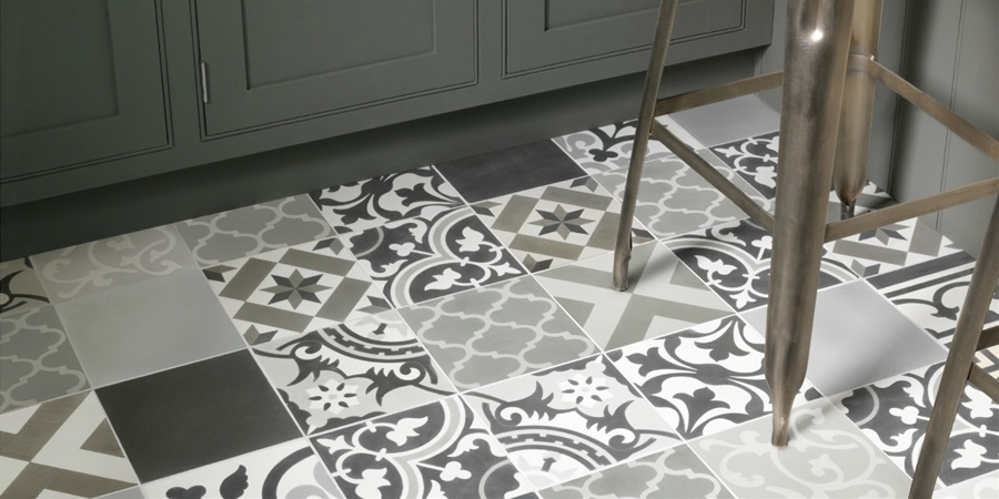 Ca'Pietra Encaustic Tiles - Burlanes Chelmsford has an extensive library of Ca'Pietra stone and tiles on display.